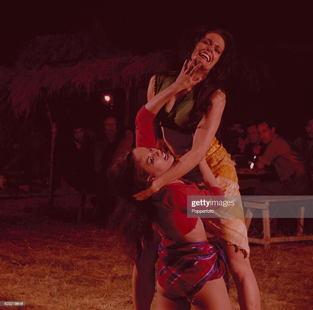 Aliza Gur english actress martine beswick and israeli actress aliza