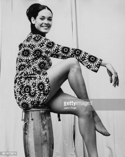 English actress Martine Beswick star of two James Bond films UK December 1965