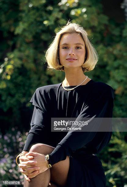 English actress Maryam d'Abo during filming of the James Bond film 'The Living Daylights' directed by John Glen on September 18 1986