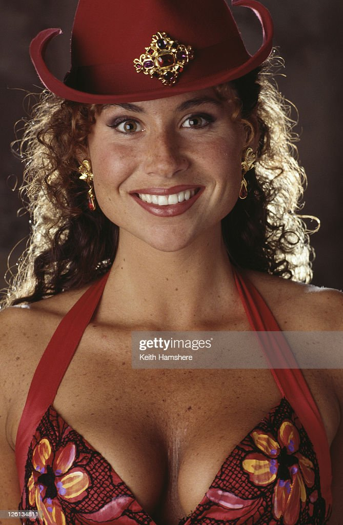 English actress Minnie Driver stars nightclub singer Irina in the James Bond film 'GoldenEye', 1995.