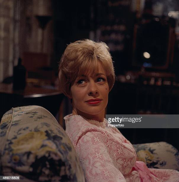 English actress Miranda Connell pictured in a scene from the television series 'Public Eye' in 1966