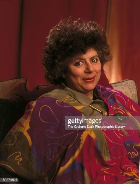 English actress Miriam Margolyes circa 1994