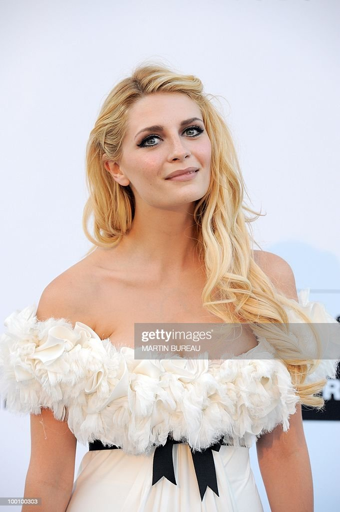 English actress Mischa Barton arrives at amfAR's Cinema Against Aids 2010 benefit gala on May 20, 2010 in Antibes, southeastern France.