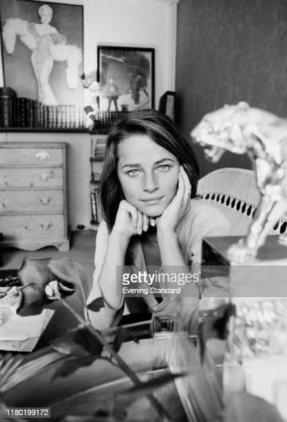 English actress, model and singer Charlotte Rampling, UK, 29th May 1970.