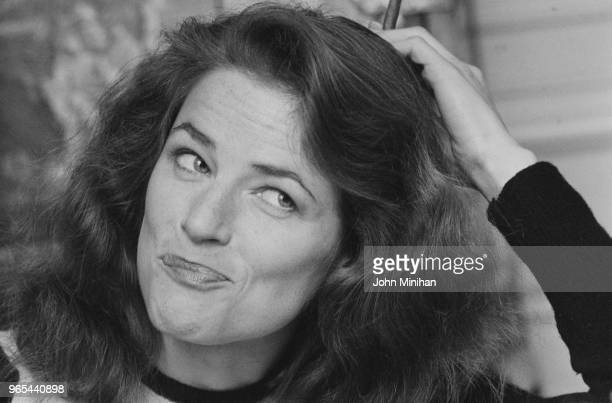 English actress model and singer Charlotte Rampling UK 9th January 1979