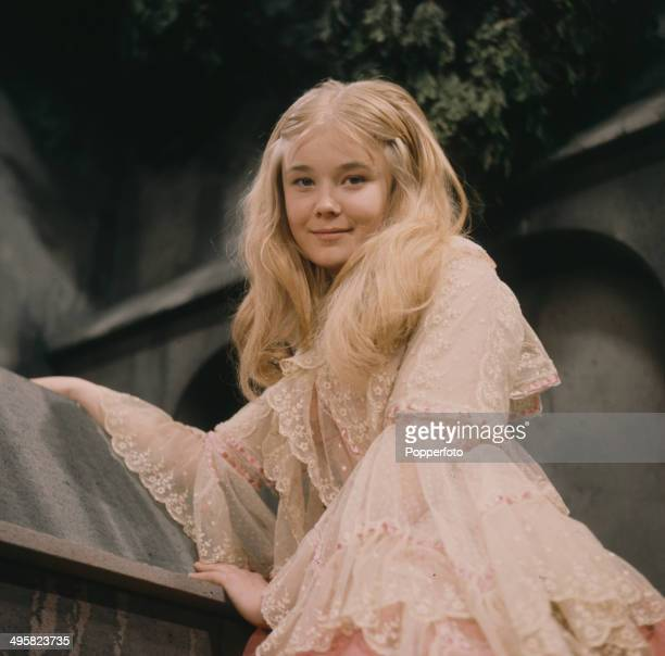 English actress Natasha Pyne pictured in a scene from the television drama 'Carmilla' in 1967