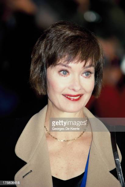 English actress Nicola Pagett in 1990 ca. In London, England.