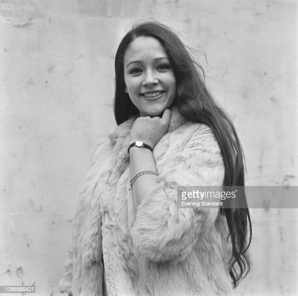 English actress Olivia Hussey, UK, 27th February 1967.