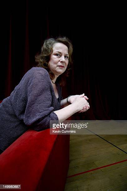 English actress Pam Ferris at the Old Vic theatre, London, 8th February 2007.