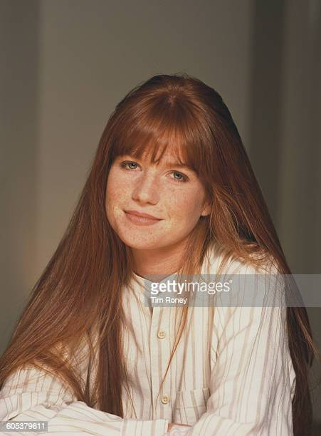 English actress Patsy Palmer circa 1995