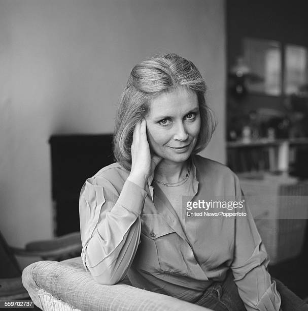 English actress Penelope Horner who plays the character of Sarah Hallam in the television drama series Triangle pictured in London on 13th March 1982