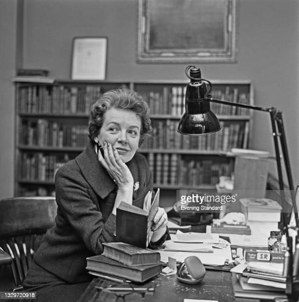 English actress Phyllis Calvert , UK, 18th March 1965.