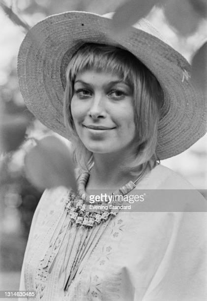 English actress Prunella Gee, UK, 24th May 1974.