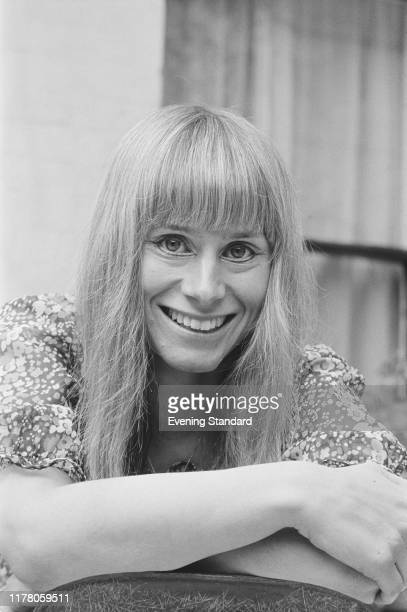 English actress Rita Tushingham attends a press reception for the play 'Lorna and Ted' at the Greenwich Theatre in London on August 18th 1970