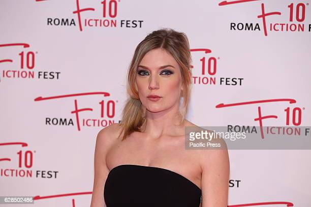 English actress Robyn Addison during Red Carpet of Opening Ceremony of Roma Fiction Fest 2016