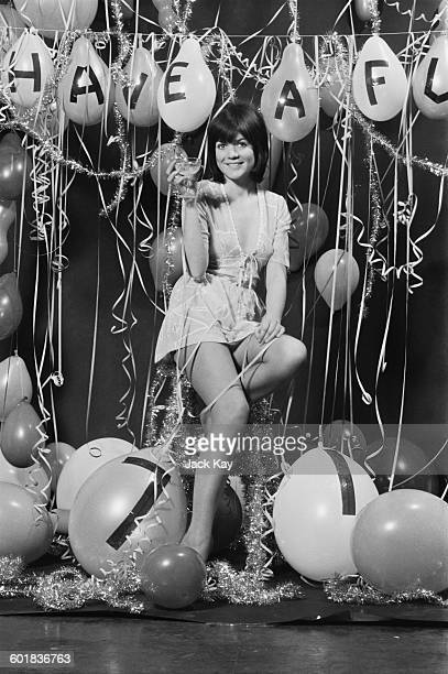 English actress Sally Geeson prepares to welcome 1971 UK 31st December 1970