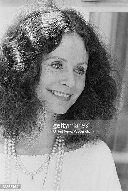 English actress Sarah Miles pictured in London on 8th July 1976