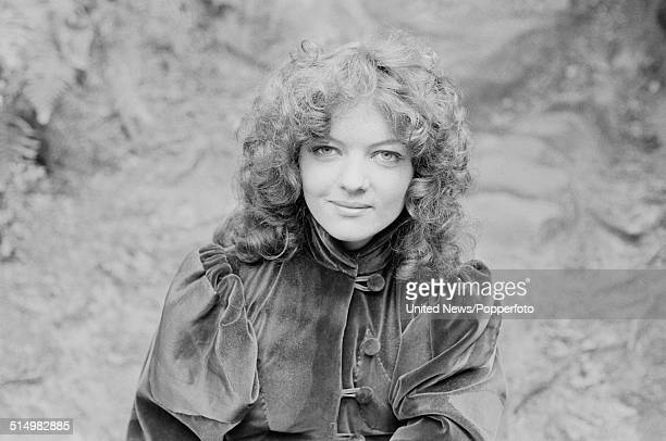 English actress Sarah Sutton pictured in character as Nyssa on the set of the BBC science fiction television series Doctor Who on 4th September 1981
