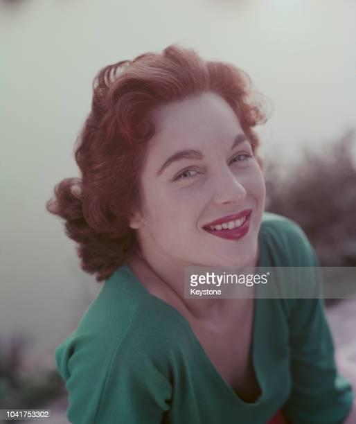 English actress Shirley Anne Field circa 1958
