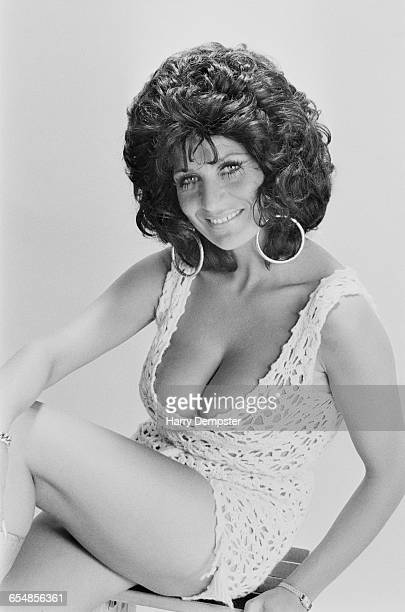 English actress singer and comedian Faith Brown UK 4th July 1971
