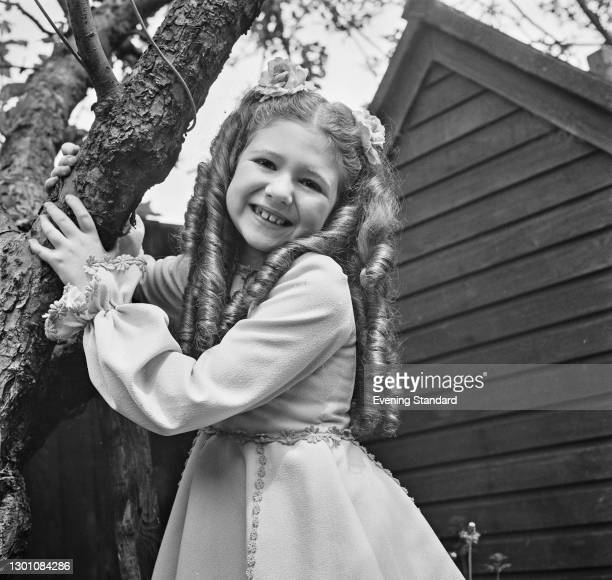 English actress, singer and dancer Bonnie Langford, UK, 29th May 1973. She is appearing in the stage musical 'Gypsy' at the Piccadilly Theatre in...