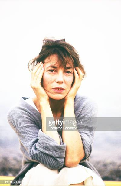 English actress singersongwriter and fashion model Jane Birkin 4th August 1993
