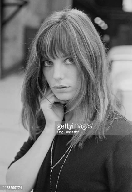 English actress, singer-songwriter, and fashion model Jane Birkin, UK, 20th September 1969.