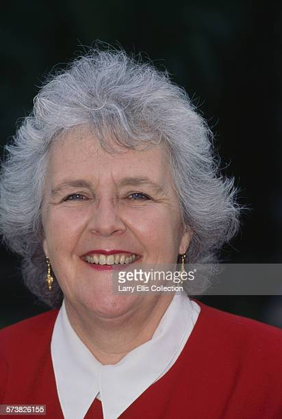 English actress Stephanie Cole in a promotional portrait for the BBC1 comedy series 'Keeping Mum' UK 12th March 1997