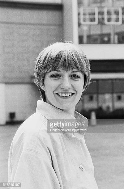 English actress Stephanie Turner who plays Inspector Jean Darblay in the television drama series Juliet Bravo posed at BBC Television Centre in...