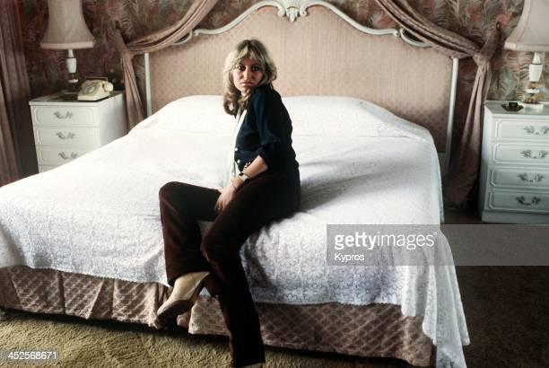 English actress Susan George in London, 1970s.