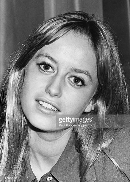 English actress Susan George in London, January 1971.
