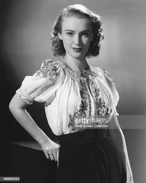 English actress Susan Shaw circa 1950
