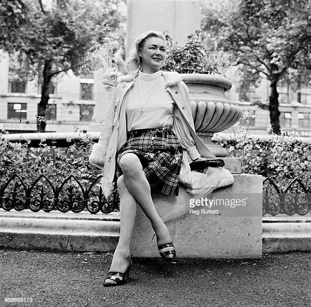 English actress Susan Shaw UK 18th August 1971