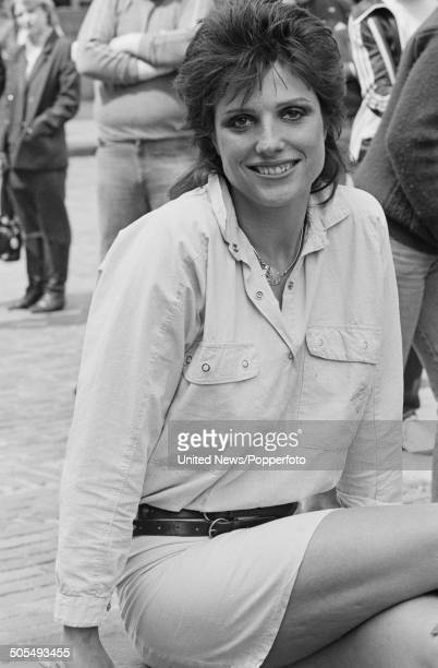 English actress Suzanne Danielle in London on 1st May 1984