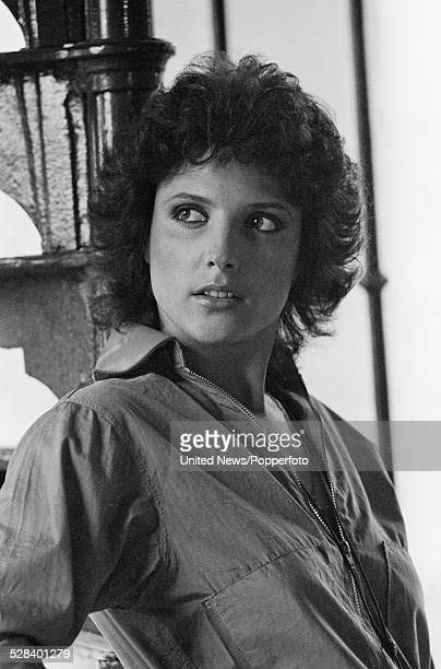 English actress Suzanne Danielle pictured on the set of the feature film The Golden Lady on 7th August 1978