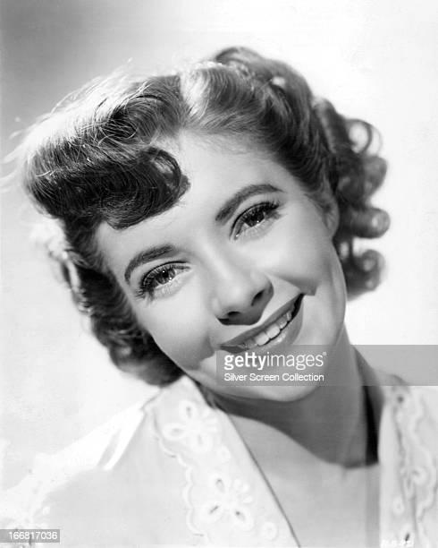 English actress Sylvia Sims, circa 1958.