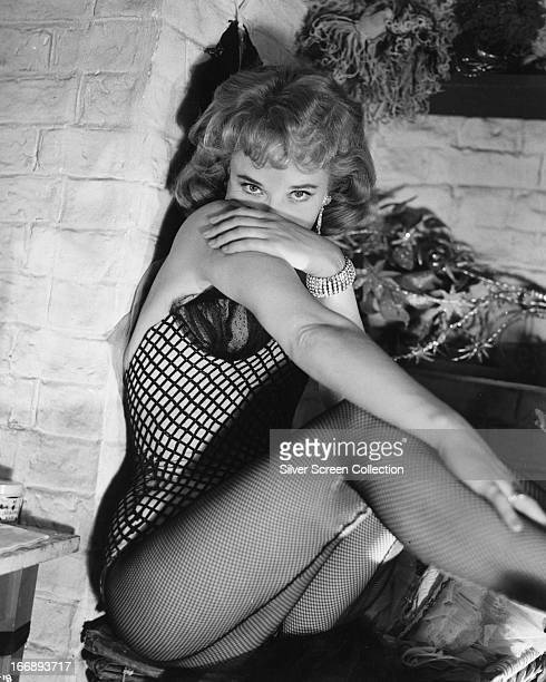 English actress Sylvia Syms as Maisie King in 'Expresso Bongo', directed by Val Guest, 1960.