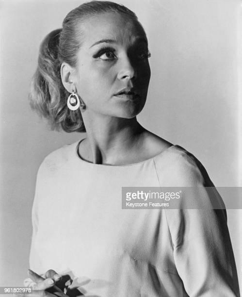 English actress Sylvia Syms, star of the film 'Hostile Witness', November 1967.