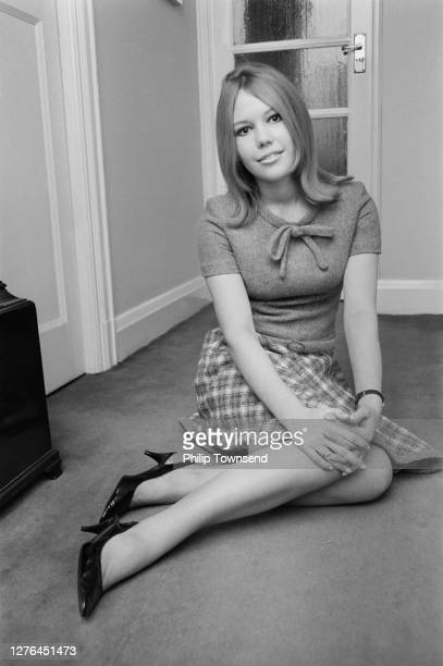 English actress Tessa Wyatt, 25th October 1965.
