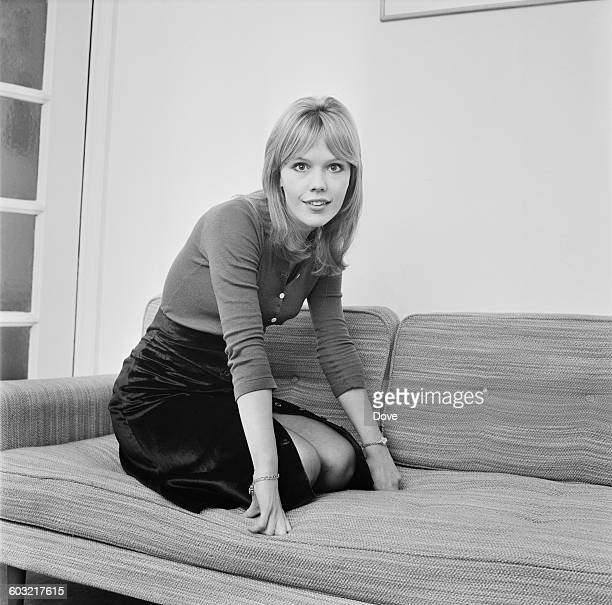 English actress Tessa Wyatt, UK, 28th January 1971.