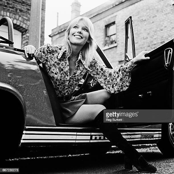 English actress Tessa Wyatt UK 6th October 1971 She married radio DJ Tony Blackburn in 1972