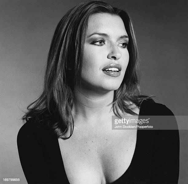 English actress Tina Hobley circa 2000