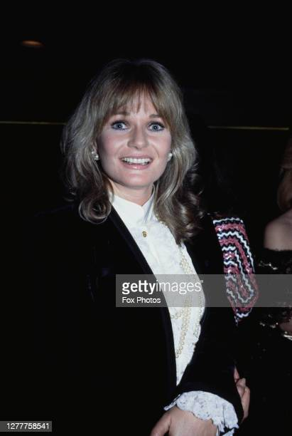 English actress Valerie Perrine at the BAFTA Awards at the Grosvenor House Hotel in London, 5th March 1985.