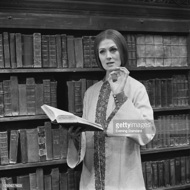 English actress Vanessa Redgrave stars in a stage version of Muriel Spark's novel 'The Prime of Miss Jean Brodie', UK, 5th May 1966.