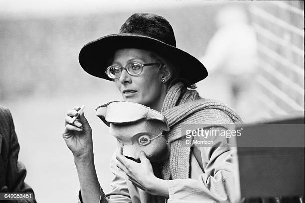 English actress Vanessa Redgrave takes part in a theatrical event in Victoria Park London as part of an antiwar protest UK 31st May 1971
