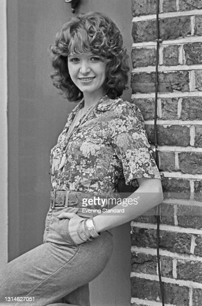 English actress Verna Harvey, UK, 16th April 1974.