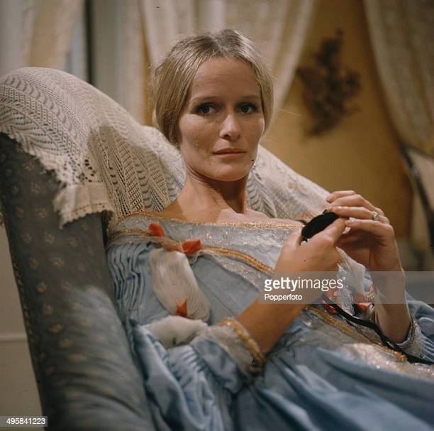 English actress Virginia McKenna pictured in a scene from the television drama 'Phantom Lover' in 1966