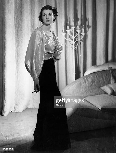 English actress Vivien Leigh born Vivien Mary Hartley the wife of actor Laurence Olivier