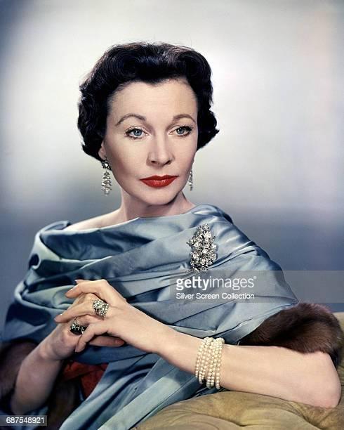 English actress Vivien Leigh circa 1955