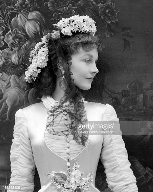 English actress Vivien Leigh in a promotional portrait for 'Anna Karenina' directed by Julien Duvivier 1948